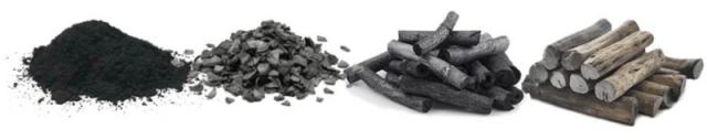 4種類の活性炭