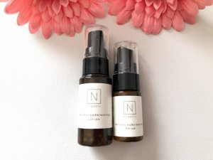 Nオーガニックの美容乳液と化粧水
