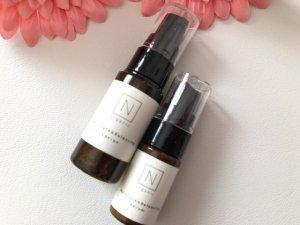 化粧水と美容乳液