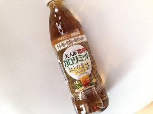 ペットボトルのハトムギ茶ブレンド