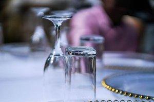 ふたつの透明のグラス