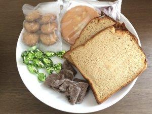低糖質のパンとスイーツ