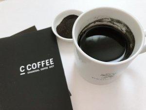 色が黒いCコーヒー